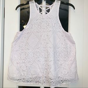 Hollister Lace light pink Tank